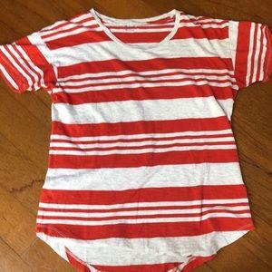 Stripes Madewell tee